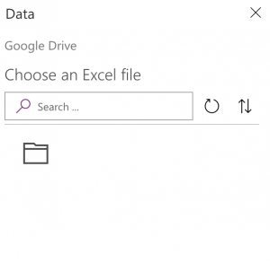 Google Drive in PowerApps