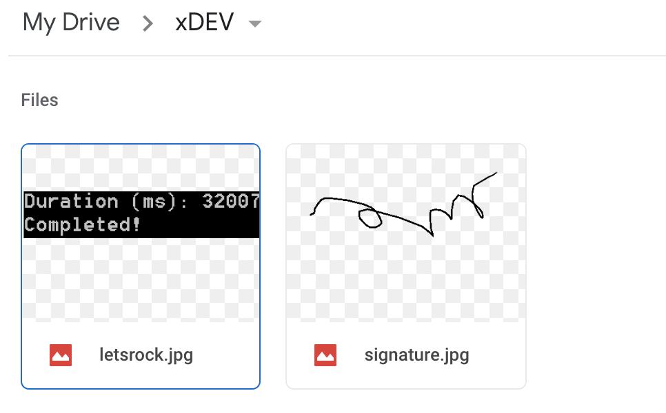 PenInput to Google Drive